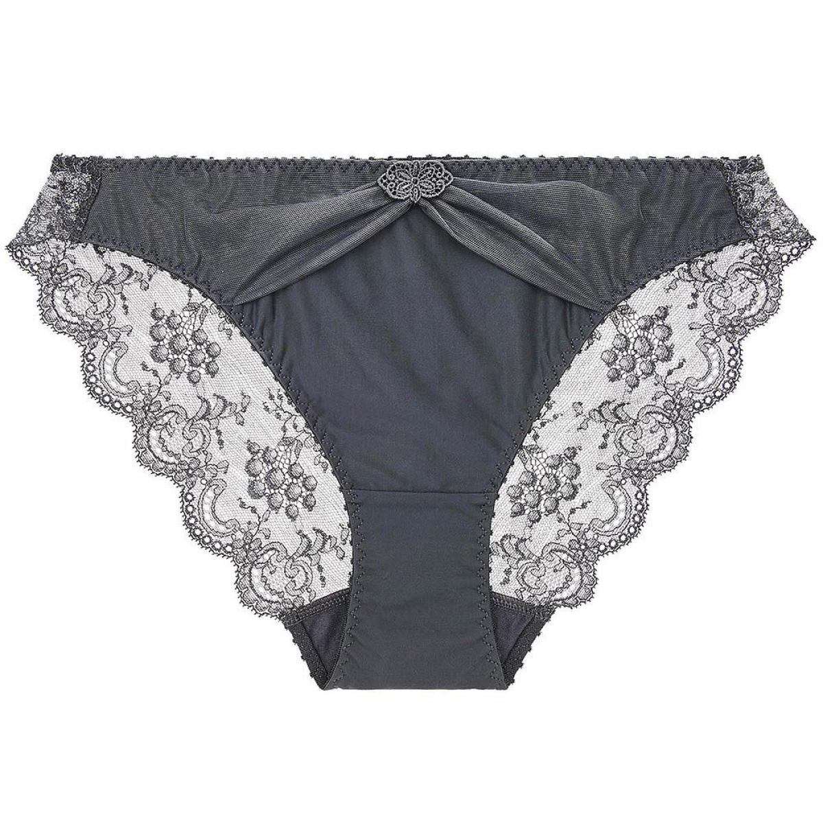 amazing selection great look best deals on AUBADE - Culotte italienne grise Aubade Aubade à l'Amour ...
