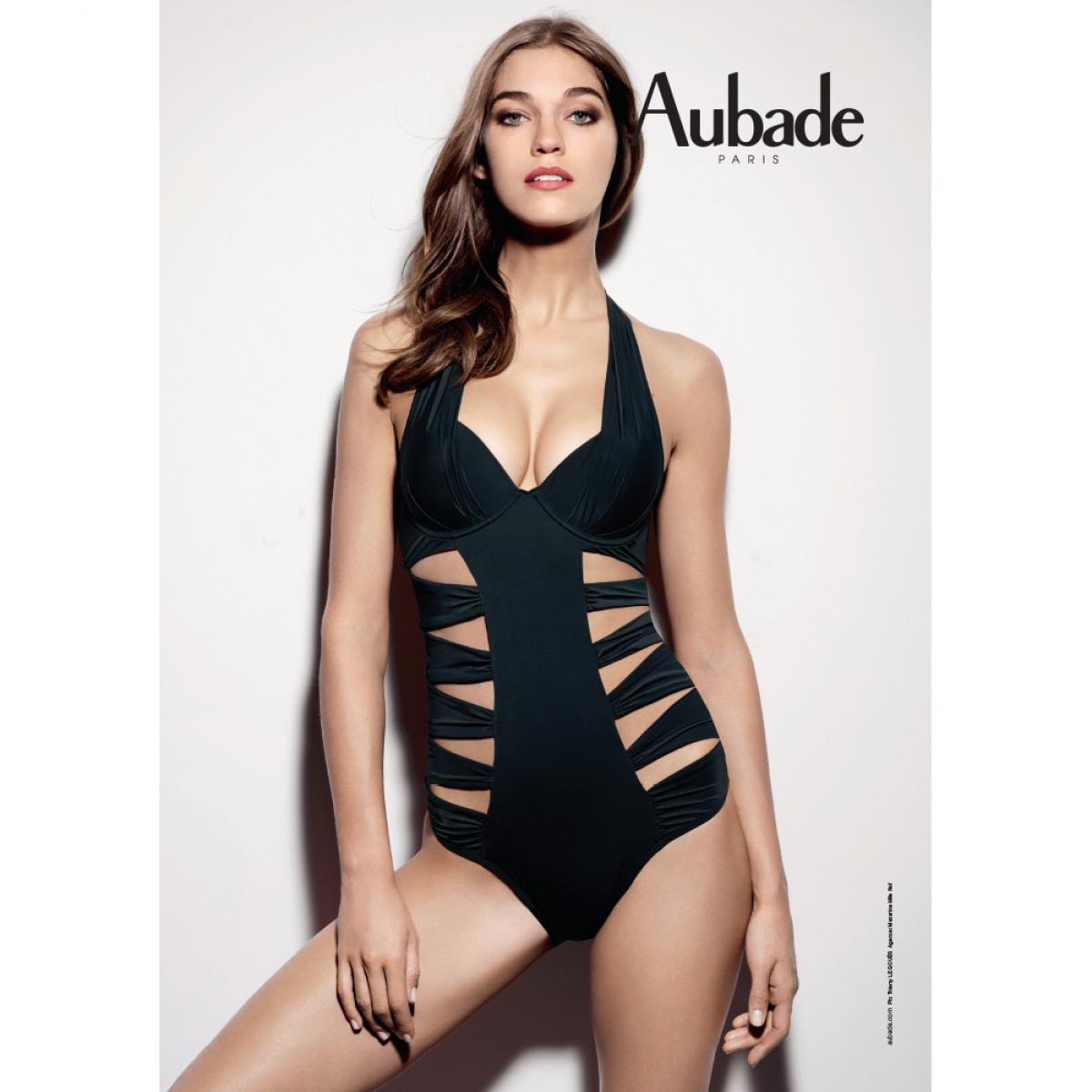 Populaire Maillot 1 pièce coque Sexy Chill Black par Aubade WS64