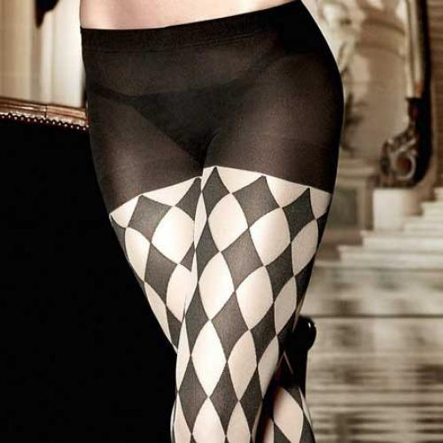 Collants Noir Baci