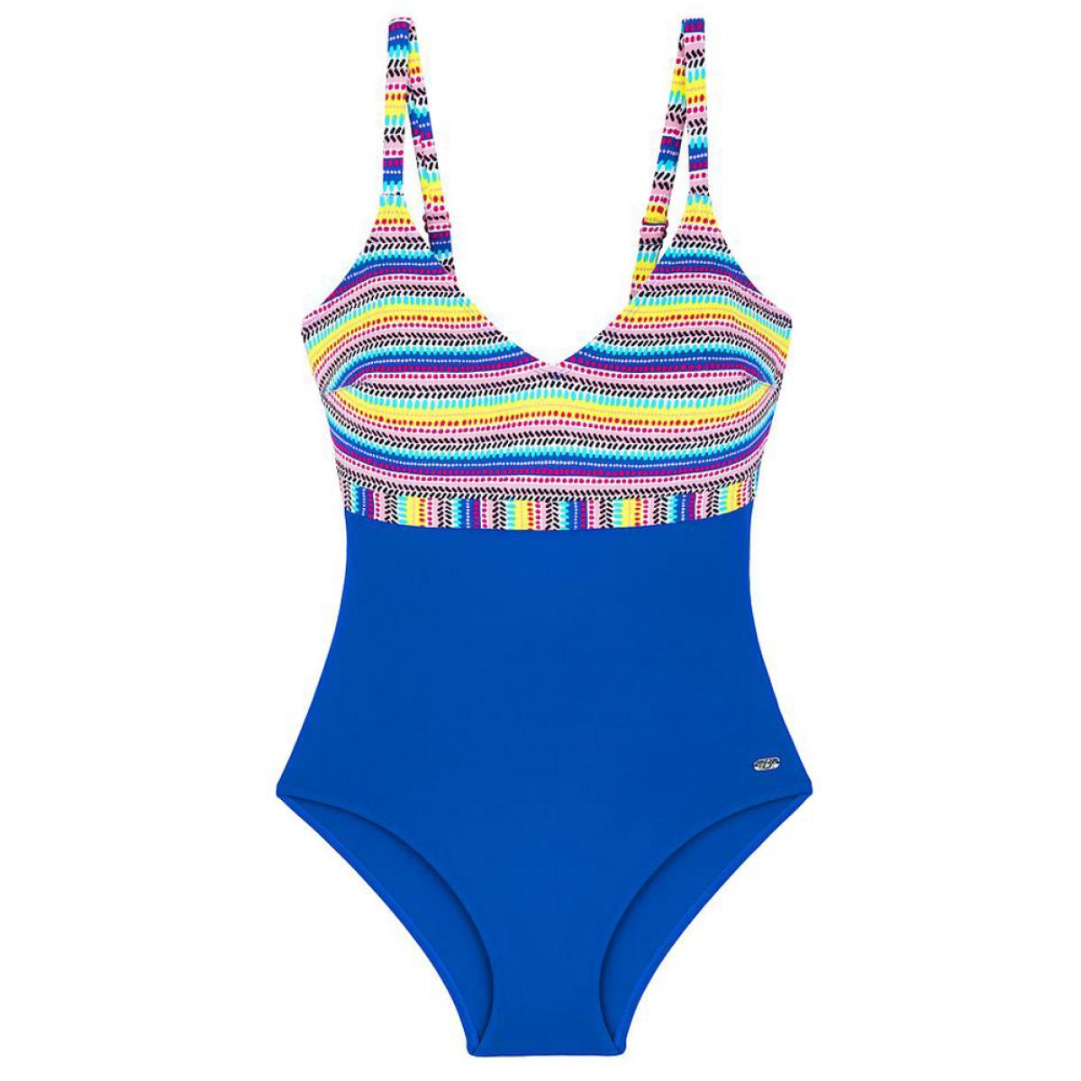 Maillot de bain une pièce sans armatures Bestform maillot Maillot de bain une pièce sans armatures multicolore