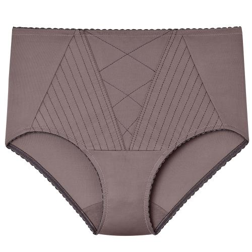 Culotte Ventre Plat Marron