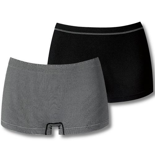 Billet Doux Lot de 2 Shortys Noir