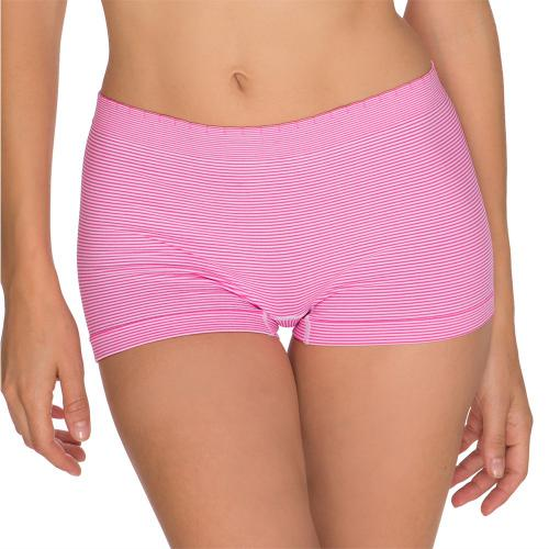 Lot de 2 Shortys Blanc-Rose