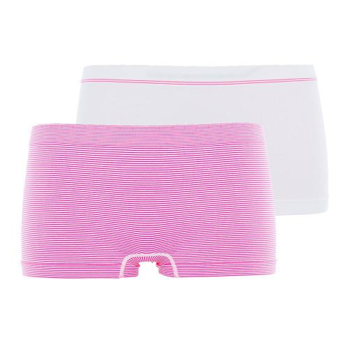 Billet Doux Lot de 2 Shortys Blanc-Rose
