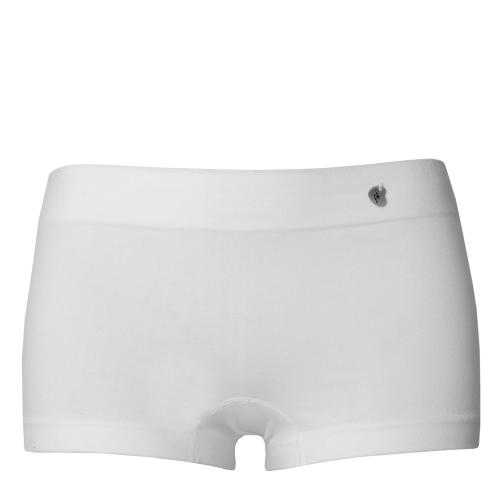 Shorty taille basse de grossesse blanche