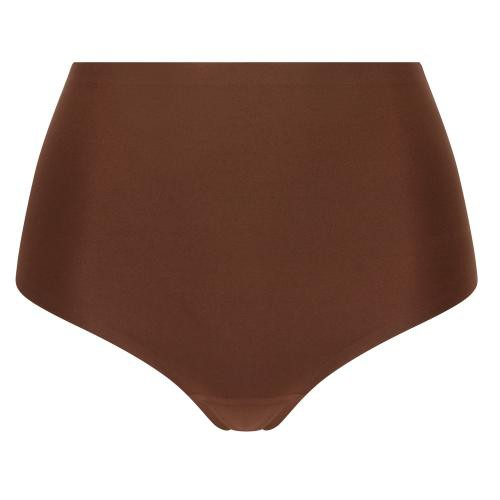 Chantelle Culotte stretch grande taille marron