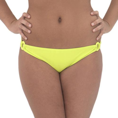 Culotte Taille Basse Jaune-Vert Curvy Kate Maillot