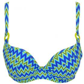 Soutien-Gorge Moulé Multicolore Curvy Kate Maillot - Triangles (maillots) - Maillots de bain triangles