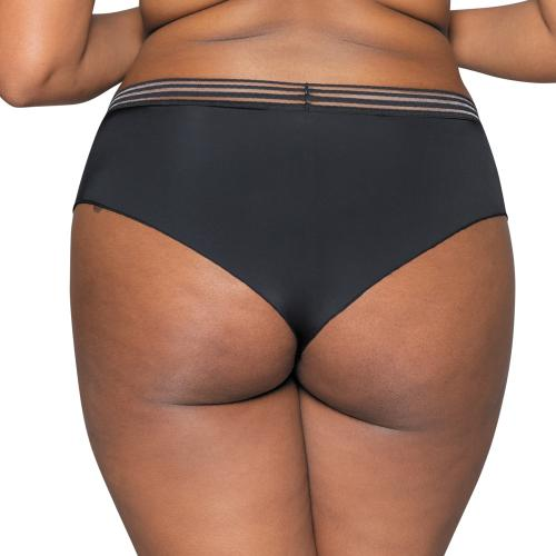 Shorty noir Unwind Curvy Kate