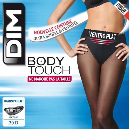 Body Touch Ventre Plat 20D Noir