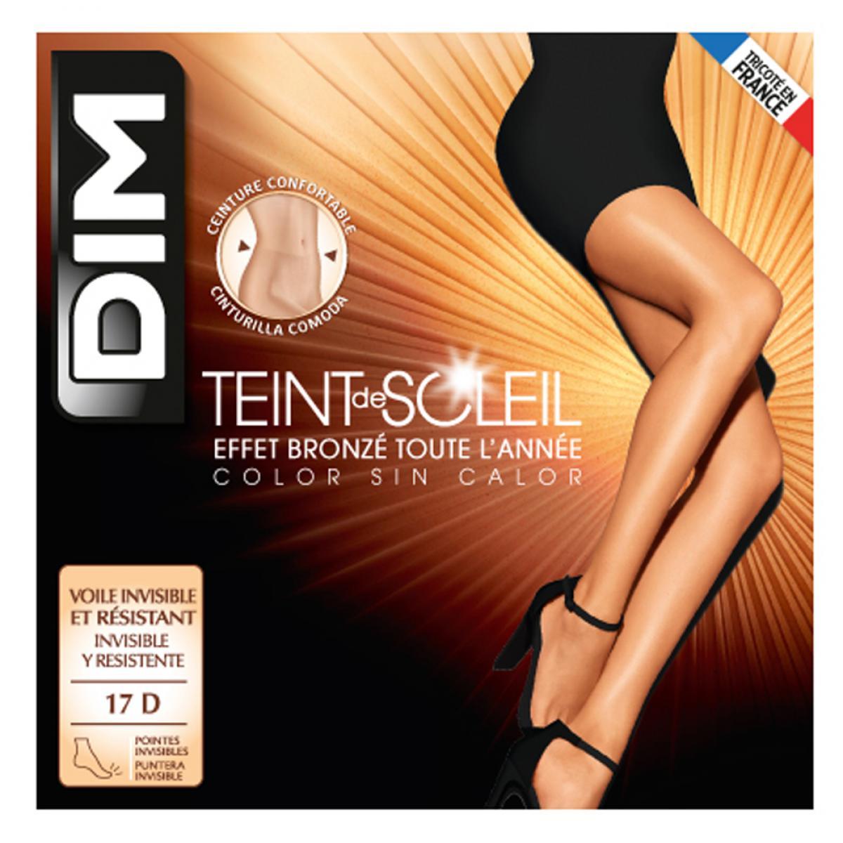 Collant voile effet naturel 17D Dim Chaussant Collant voile effet naturel 17D nude