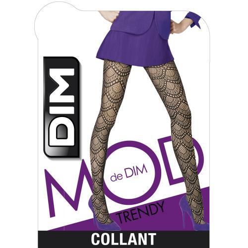Collant motif Eventail