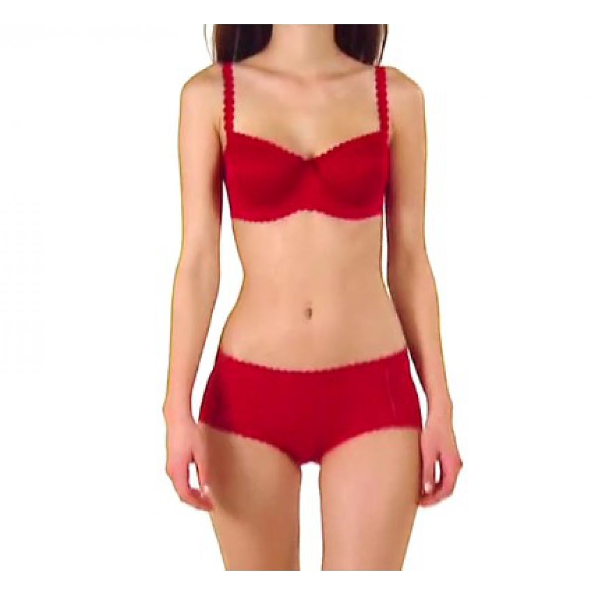 Soutien-gorge corbeille Body Touch Mod rouge par Dim - Lemon Curve 8647ca4f4ef