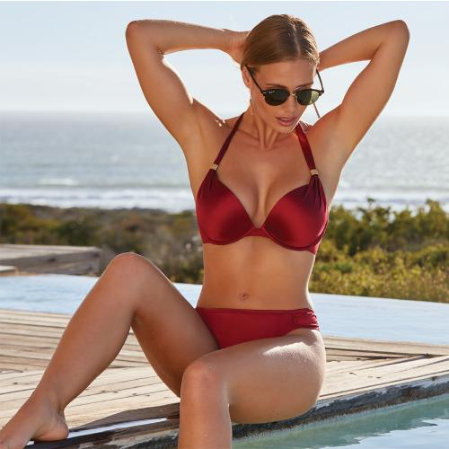 Culotte rouge Jamaica/Shiny