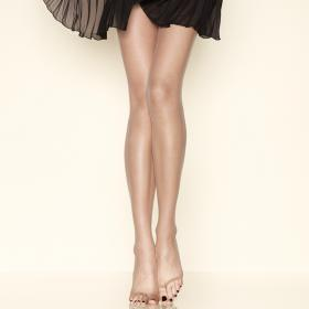 Collant Tong 15D Bronze Gerbe - Collants - Collants