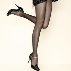 Collant 15D Noir Gerbe - Collants - Collants