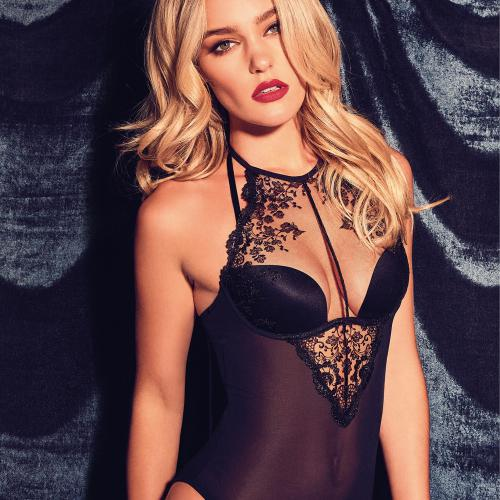 Body noir Gossard