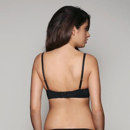Soutien-Gorge Push-Up Sans Armatures Noir Supersmooth