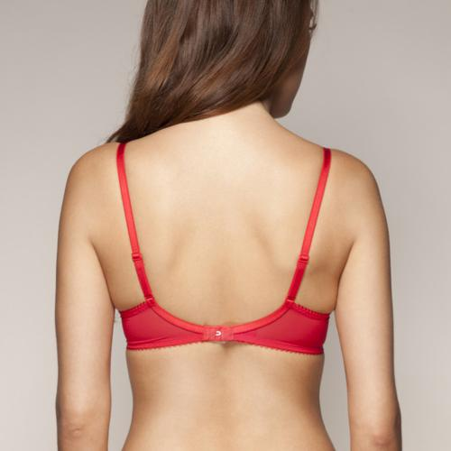 Soutien-Gorge Push-Up Rouge Superboost Lace