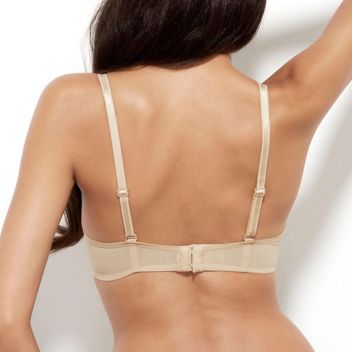 Soutien-gorge moule Glossies Lace Nude par Gossard 5726ec7f0b4