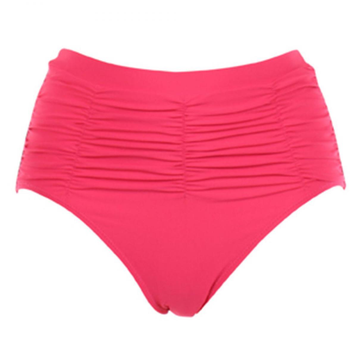 Culotte de bain seychelles framboise par janine robin for Bain s curve