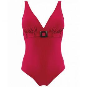 e272c74114 Maillot de bain une pièce rouge Janine Robin - Maillots de bain gainants -  Maillots de