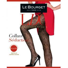 Collant Séduction Noir Le Bourget - Collants - Collants Le Bourget