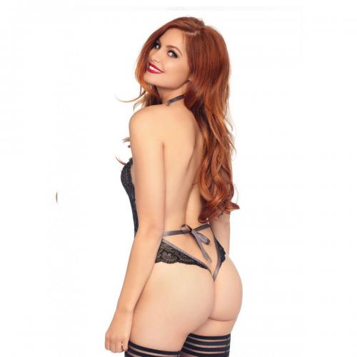 Body string decollete en V Seduction Leg Avenue