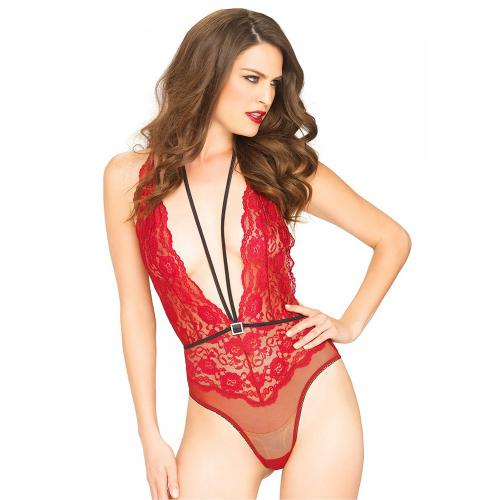 Body string décolleté V dos nu Sexy Body Leg Avenue