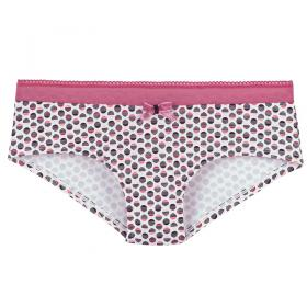 Shorty Rose-Multicolore Lemon Boudoir - Shorty et boxers - Shorties et boxers