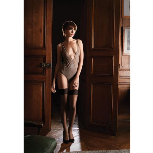 Body-String Gris-Marron