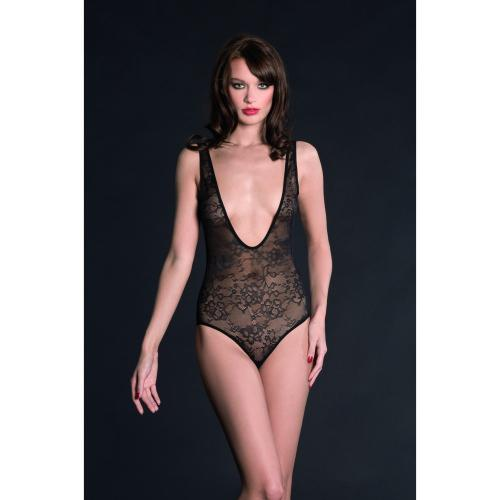 Body String Noir Maison Close