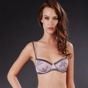 Soutien-Gorge Push-Up Gris Maison Close - Push-up - Lingerie Maison Close