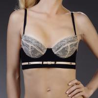 Soutien-Gorge Push-Up Noir-Chair