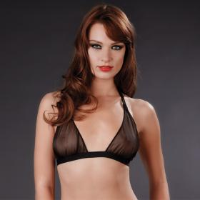 Soutien-gorge triangle sans armatures - Lingerie Maison Close