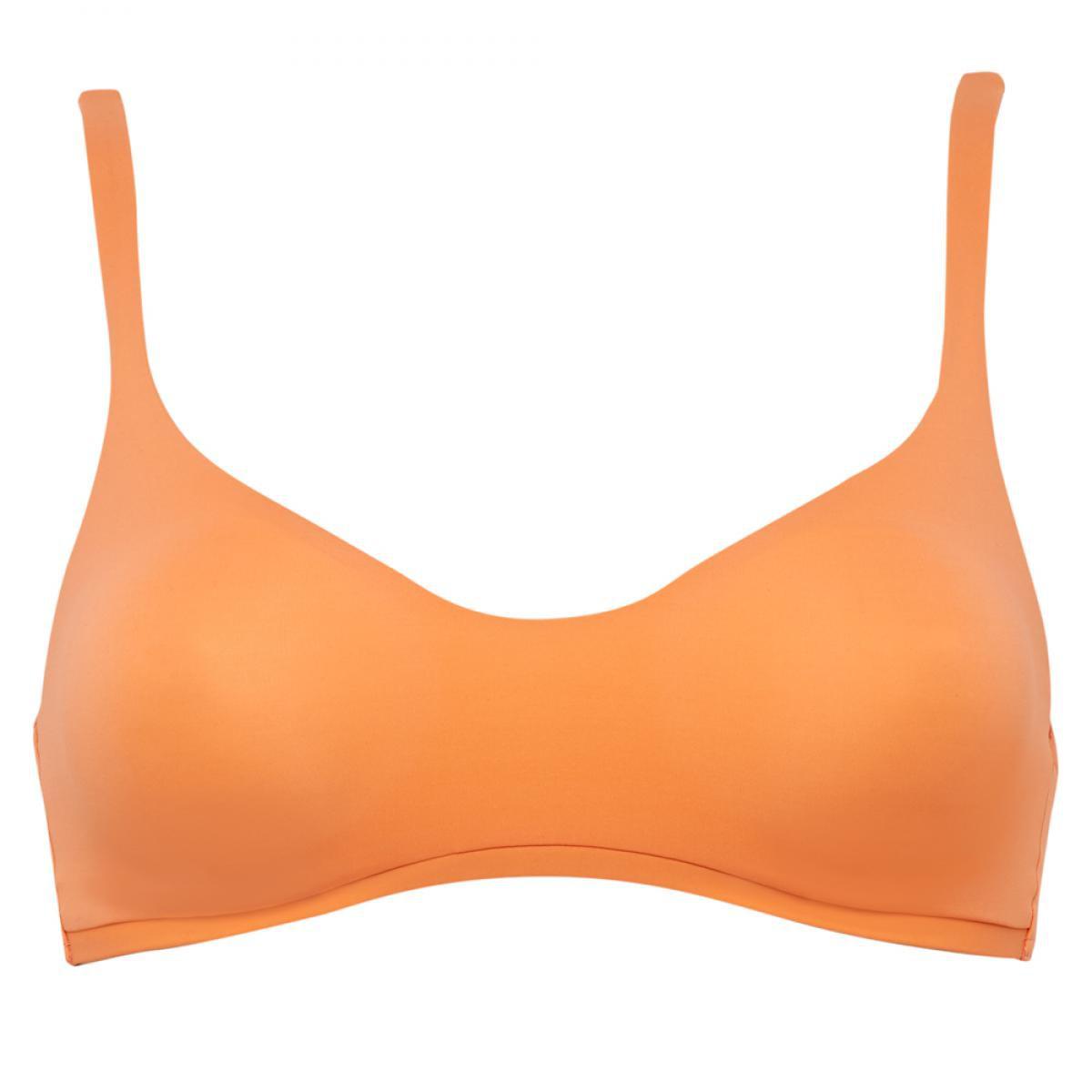 Promo : Brassière de bain sans armatures orange