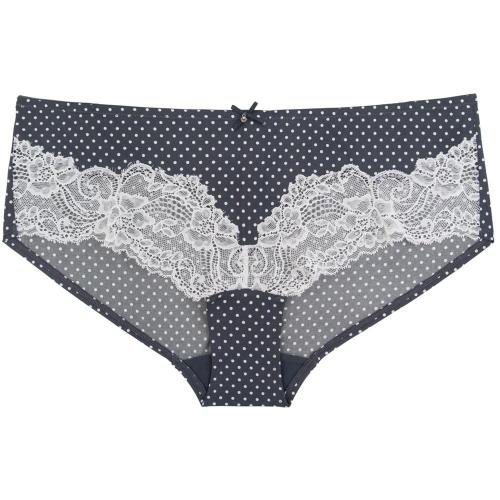 Marie Meili Shorty Multicolore-Gris-Blanc