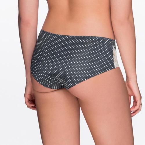 Shorty Multicolore-Gris-Blanc Abigail