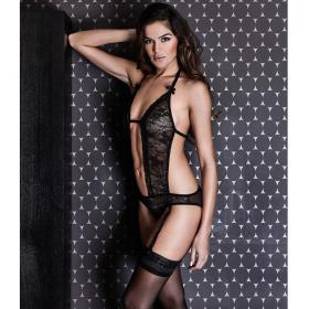 Body Noir Midnight Lingerie - Body - Lingerie Sexy Clara Morgane