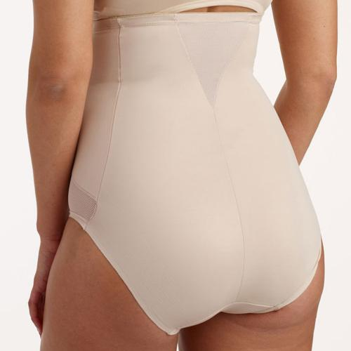 Culotte taille haute gainante beige Cooling