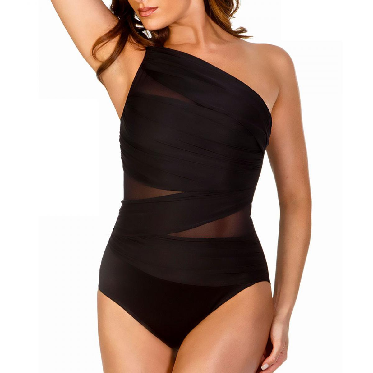 maillot de bain 1 pi ce brassi re jena blk miraclesuit. Black Bedroom Furniture Sets. Home Design Ideas