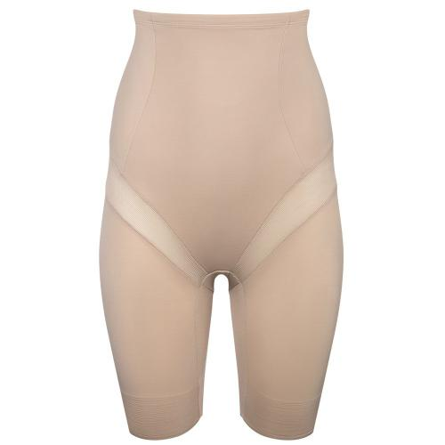 Panty taille haute gainant beige