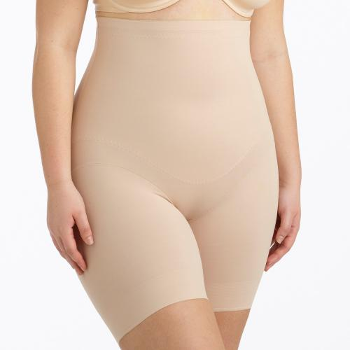 Panty taille haute gainant beige - Lingerie gainante