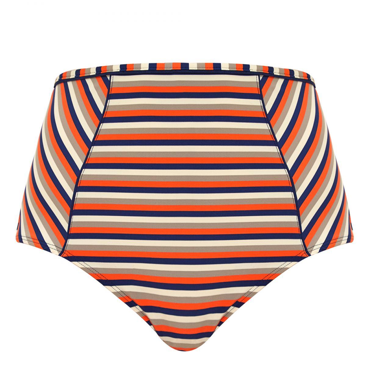 57dd4e4ecf Culotte de bain taille haute orange Panache Maillot - Lemon Curve