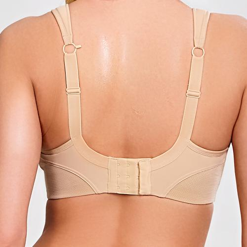 Soutien-gorge de sport sans armatures chair Sports Bra