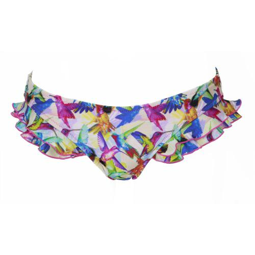 Playful Promises Maillot Culotte Multicolore