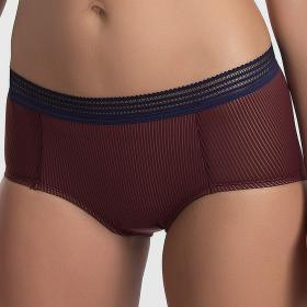 Shorty lie de vin Playtex - Shorty et boxers - Lingerie Playtex