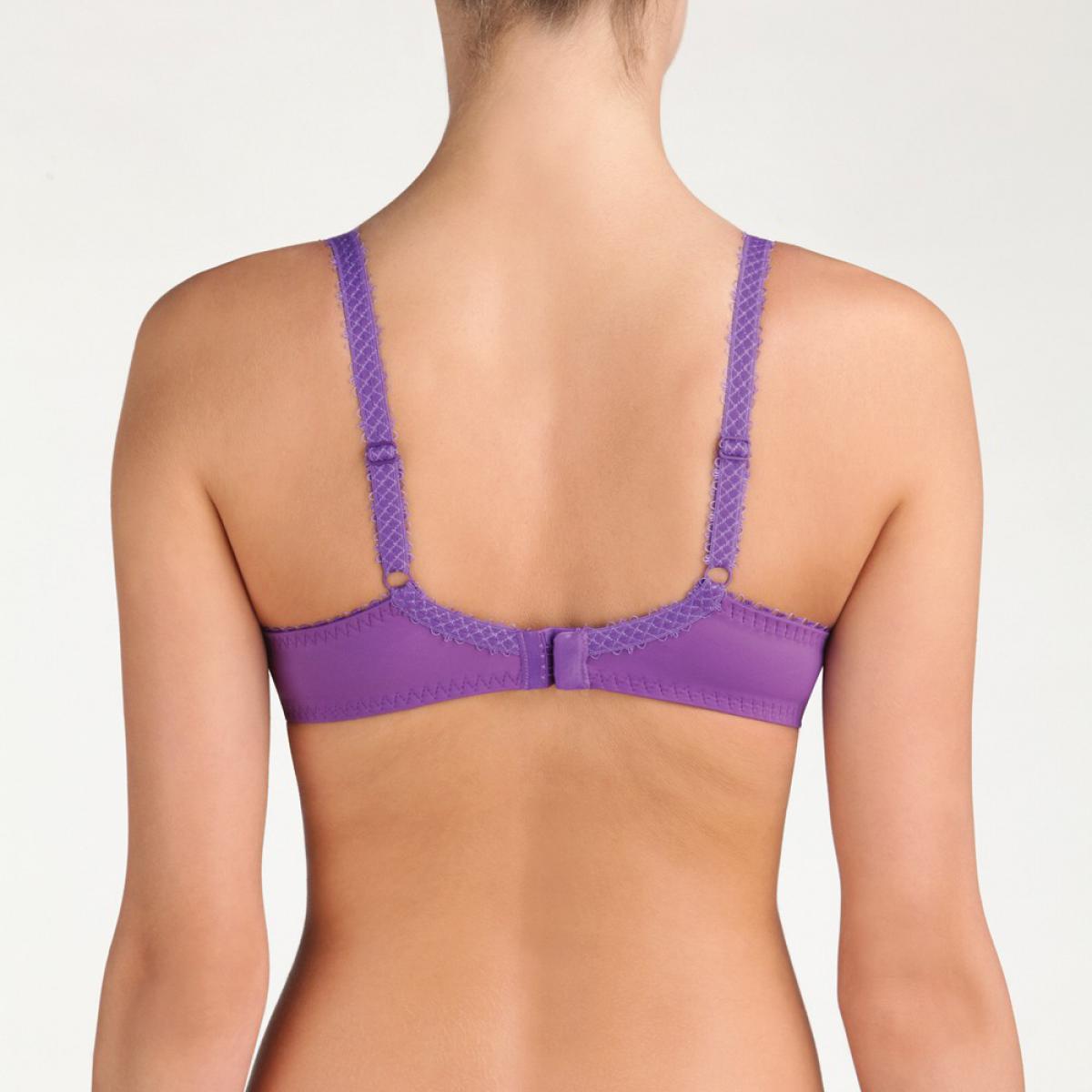 soutien gorge armatures flower elegance violet intense playtex. Black Bedroom Furniture Sets. Home Design Ideas
