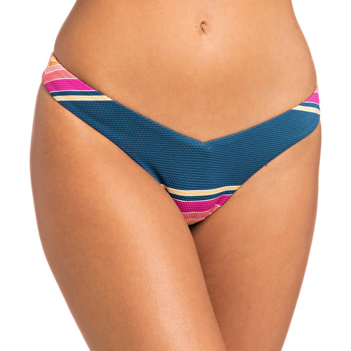 Promo : Culotte de bain brésilienne multicolore