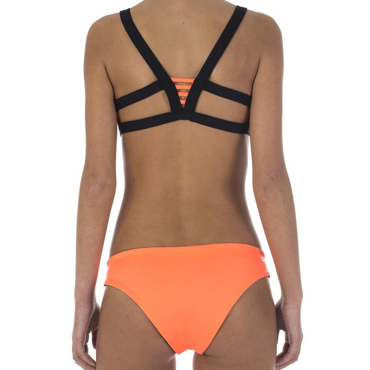 maillot de bain 2 pieces mirage colorblock coral par rip curl. Black Bedroom Furniture Sets. Home Design Ideas